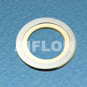 Spiral wound gasket with inner ring